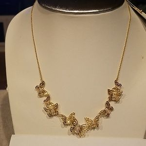 Kate Spade Social Butterfly Necklace